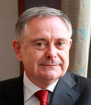 Labour leader Brendan Howlin highlighted the case of the former Clerys workers Photo: Frank Mc Grath