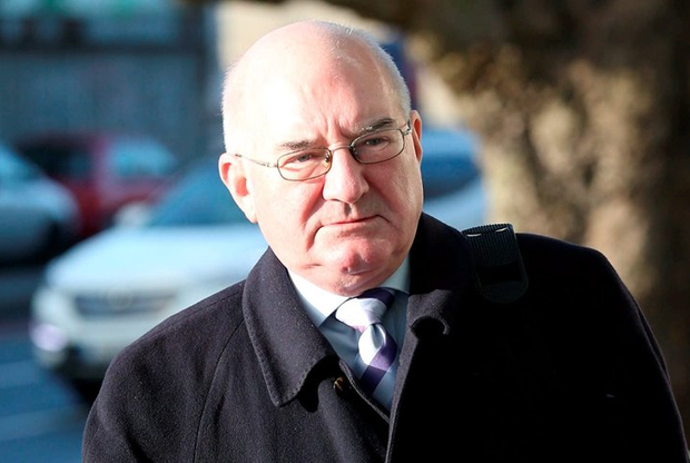 Willie McAteer, former finance director with Anglo Irish Bank (Picture: Collins Courts)