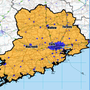 CORK: (Blue) Covered by commercial operators by end 2016; (Yellow) Covered by the National Broadband Plan