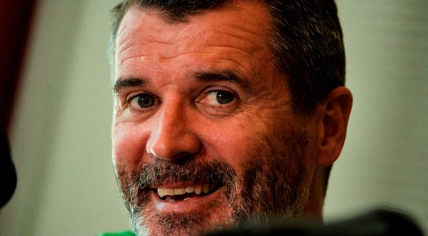 1 June 2016; Republic of Ireland assistant manager Roy Keane during a press conference in the Radisson Blu Hotel, Cork. Photo by David Maher/Sportsfile