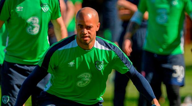 Darren Randolph of Republic of Ireland during squad training in Fota Island Resort, Fota Island, Cork. Photo by David Maher/Sportsfile