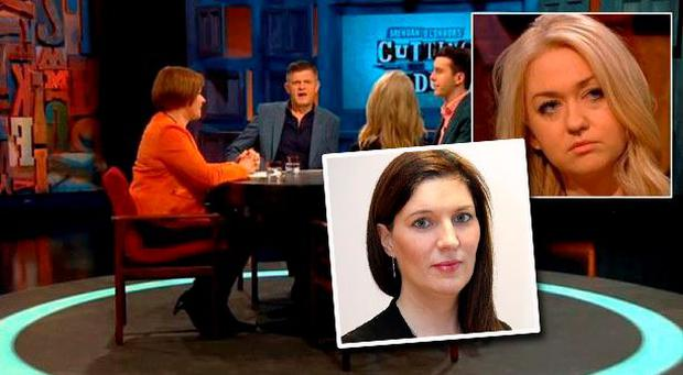 Heated debate: Melanie Finn reacts to Niamh Horan's recent comments on working mums