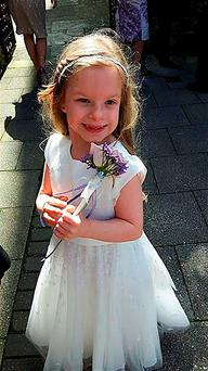 Keziah Flux-Edmonds, who has been named as the six-year-old girl who was found unconscious alongside her dead father Darren Flux-Edmonds on the Isle of Wight, and later died. Photo: Hampshire Police/PA Wire