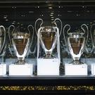 MADRID, SPAIN - MAY 31: The UEFA Champions League trophies are displayed in Real Madrid museum at Estadio Santiago Bernabeu on May 31, 2016 in Madrid, Spain. (Photo by Angel Martinez/Real Madrid via Getty Images)