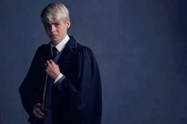 Anthony Boyle who plays Scorpius Malfoy in the Harry Potter And The Cursed Child stage play. Charlie Gray/PA Wire