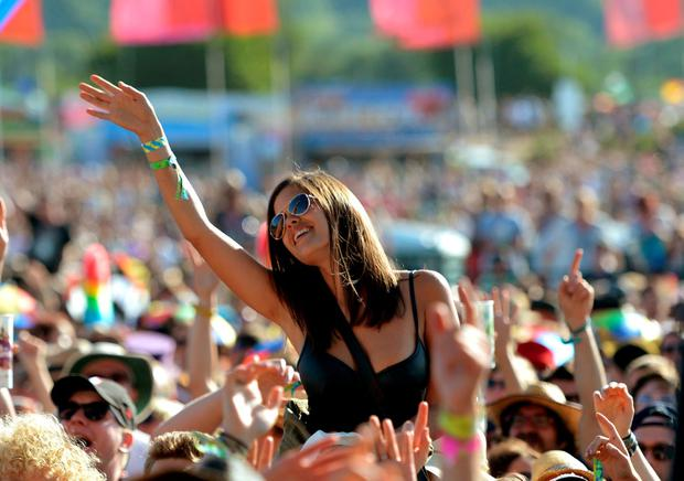 Glastonbury Festival - the festival season is upon us.
