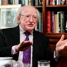 President Michael D. Higgins (Picture: Steve Humphreys)