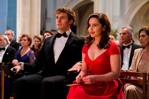 Me Before You stars Emilia Clarke and Sam Clafin.