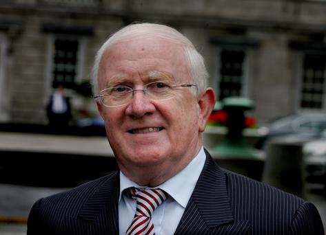 Fianna Fáil's Pat 'The Cope' Gallagher received the most votes of the four nominees – but was still opposed by a majority of the House (Picture: Tom Burke)