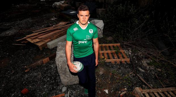Jacob Stockdale. Photo: Donall Farmer/INPHO