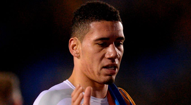 Chris Smalling. Photo: Oli Scarff/AFP/Getty Images