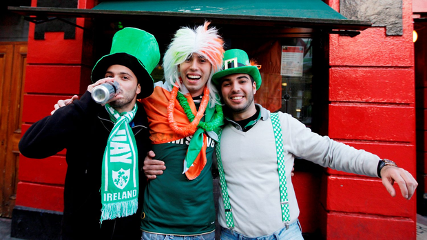 Temple Bar is extremely popular with overseas visitors