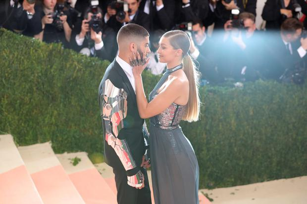 Gigi Hadid and Zayn Malik attend the