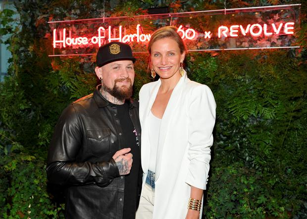 Guitarist Benji Madden and actress Cameron Diaz attend House of Harlow 1960 x REVOLVE on June 2, 2016 in Los Angeles, California. (Photo by Donato Sardella/Getty Images for REVOLVE)