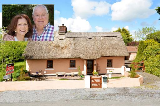 The three-bedroom thatched Lisdonagh Cottage has been owned by Neighbours and Emmerdale star Anne Charleston for the past 20 years.