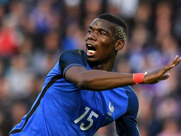 Paul Pogba is a transfer target for Manchester United
