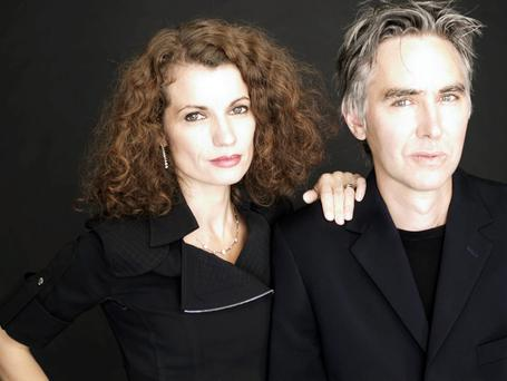 A couple of writers: Husband and wife Alexander and Alexandra Ahndoril, who are behind the pseudonym Lars Kepler
