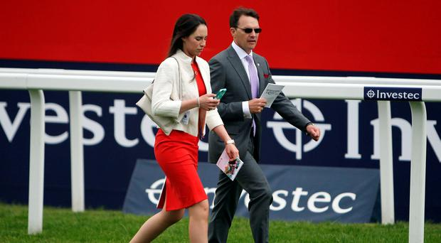 Aidan O'Brien last year came the closest he has ever done to winning the Prix du Jockey Club with runner-up Highland Reel. Photo credit: Steve Parsons/PA Wire.