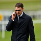 Aidan O'Brien's (stock photo) Earring is bred to be smart, and improved from her debut. Photo: Sportsfile