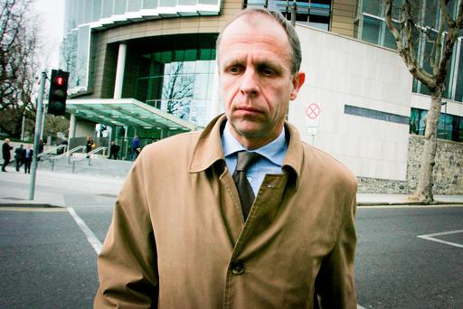 Former Anglo executive John Bowe was found guilty of conspiracy to defraud this week. Photo: Courtpix