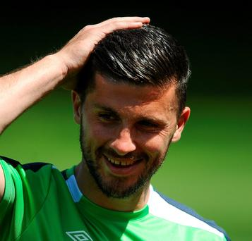 Playing 90 minutes week in, week out for Southampton has helped Shane Long find an extra edge to his game this year. Photo credit David Maher/Sportsfile