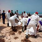 The bodies of more than 100 migrants have washed up on a Libyan beach after a migrant boat sank in the Mediterranean Sea. Photo: AFP