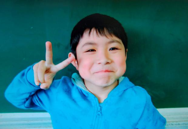 Yamato Tanooka (7) was discovered sleeping on a mattress by military personnel. Photo: Getty