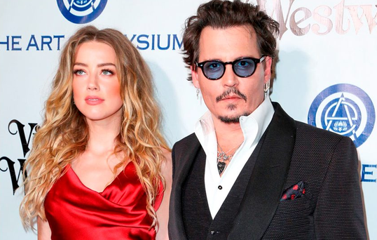 Ms Heard claims that Depp plunged into an episode of paranoid delusions, heavy drinking and drug abuse after they were married (Photo by Rich Fury/Invision/AP, File)
