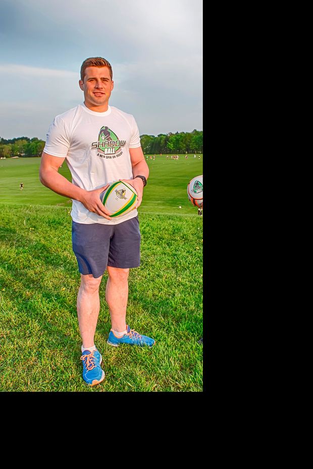 CJ Stander is an ambassador for Shadowball, a new ball designed to fine-tune a player's rugby skills.