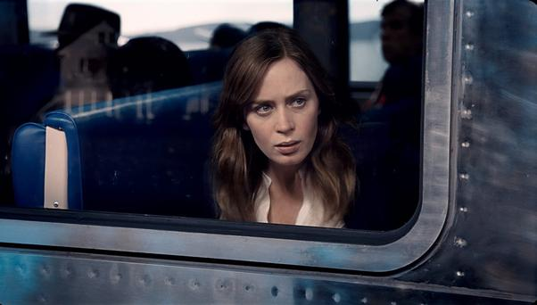 Through a glass darkly: Emily Blunt plays Rachel, the depressed alcoholic narrator of The Girl on the Train.