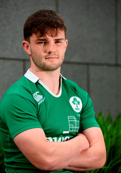 Bill Johnston missed Ireland U-20s' Six Nations campaign with a shoulder injury. Photo credit: Sam Barnes/Sportsfile