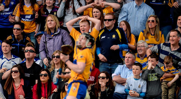 Clare's last-second win against Waterford was akin to a horse winning on the nod. Picture credit: Piaras Ó Mídheach / SPORTSFILE