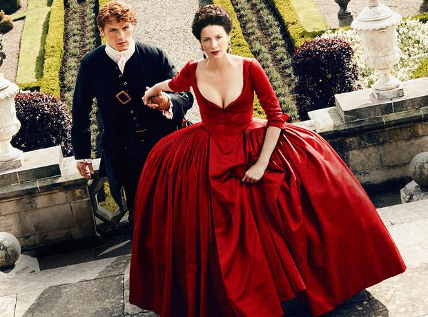 Irish actress Caitriona Balfe says fans thought she was 'too