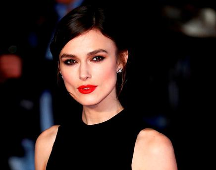 CLOTHES HORSE: Keira Knightley is in demand for her looks, but in interviews she displays the kind of jadedness you'd expect from somebody already chewed up and spat out by the movies