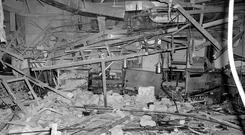HORROR: The wreckage at the Mulberry Bush pub in Birmingham in 1974; isn't it time Daithi O Conaill's inquiry into the bombing was released? Photo: PA Wire