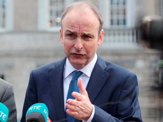 Fianna Fail Leader Micheal Martin: 'To say that there's nothing to inquire into here, that's not tenable and that's not acceptable. It was never acceptable' Photo:RollingNews.ie