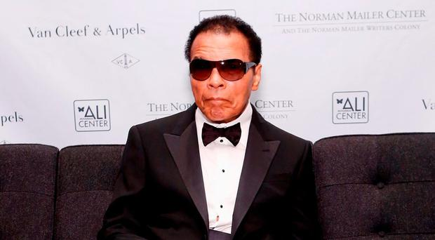 Muhammad Ali battled Parkinson's for years. Photo: Cindy Ord/Getty Images for Norman Mailer Center