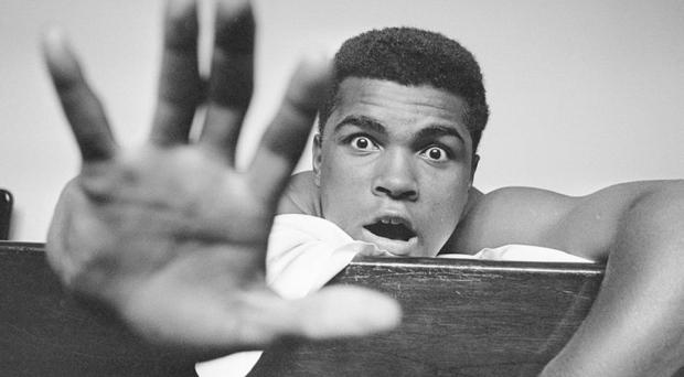 Muhammad Ali in his youthful 1960s prime. Photo: Len Trievnor/Express/Getty Images