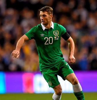 Republic of Ireland's Wes Hoolahan. Photo: Paul Mohan / Sportsfile