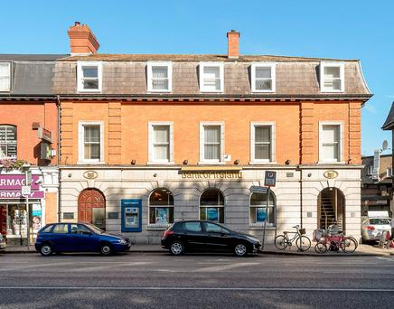 A private investor paid €2.6m for this Bank of Ireland branch in Fairview in north Dublin