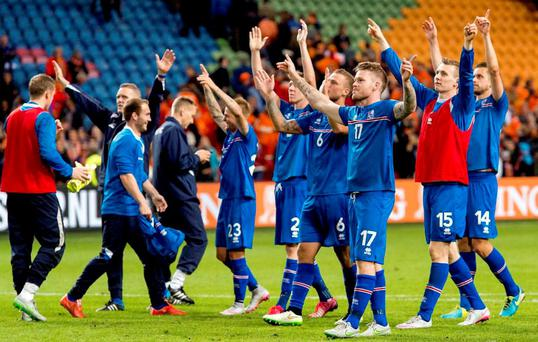 Iceland's emergence is based on a rational and intelligent plan which saw them invest massively in coaching since 2000. Photo: Koen van Weel