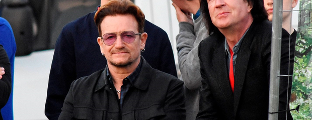 Bono watches Tame Impala at Day Two of the Forbidden Fruit Festival 2016 at The Royal Hospital Kilmainham