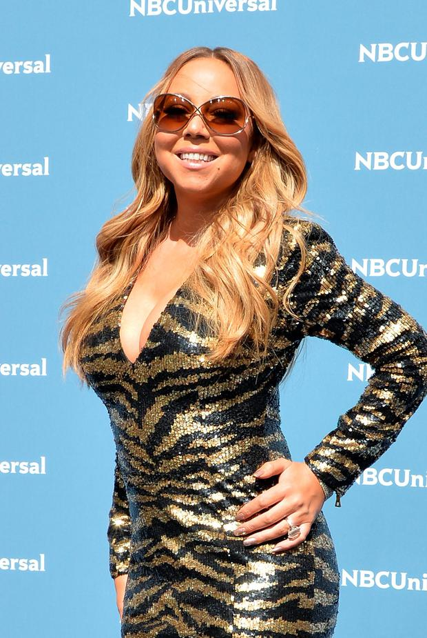 Singer/songwriter Mariah Carey attends the NBCUniversal 2016 Upfront Presentation on May 16, 2016 in New York, New York. (Photo by Slaven Vlasic/Getty Images)
