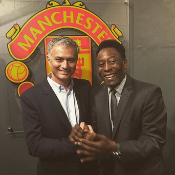 Courtesy of Jose Mourinho's Instagram