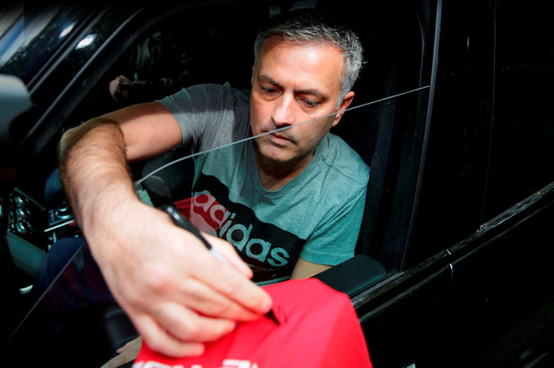 Manchester United manager Jose Mourinho. Photo: PA