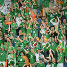 Republic of Ireland supporters during Euro 2012 Photo: Sportsfile