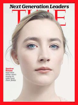 Saoirse on the cover of 'Time'