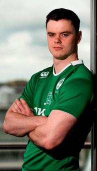 'The former St Michael's College player is central to Ireland's hopes in a difficult pool which also includes champions New Zealand and Georgia.' Photo: Sportsfile