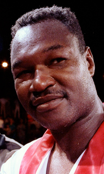 Former world heavyweight champion Larry Holmes