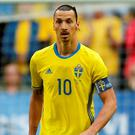 Sweden's Zlatan Ibrahimovic. Photo: Andrew Boyers/Action Images via Reuters